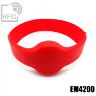 Bracciali RFID silicone tondo EM4200