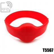 Bracciali RFID silicone tondo T5567