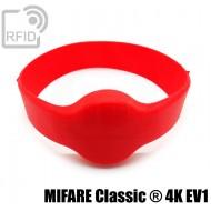 Bracciali RFID silicone tondo MIFARE Classic ® 4K EV1