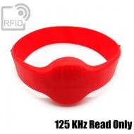 Bracciali RFID silicone tondo 125 KHz Read Only