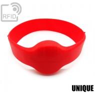 Bracciali RFID silicone tondo UNIQUE