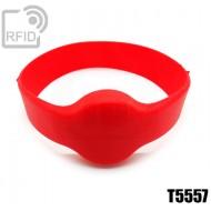 Bracciali RFID silicone tondo T5557