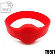 Bracciali RFID silicone tondo T5577