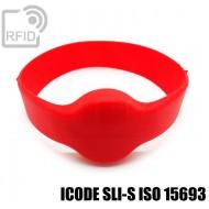 Bracciali RFID silicone tondo ICODE SLI-S ISO 15693
