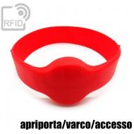 Bracciali RFID silicone tondo apriporta/varco/accesso
