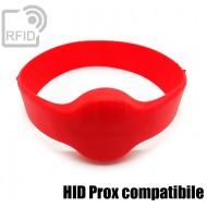 Bracciali RFID silicone tondo HID Prox compatibile 1