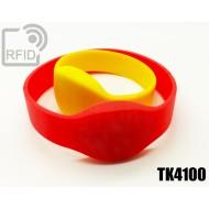 Braccialetti RFID silicone ovale TK4100