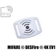Slider RFID per braccialetti NFC MIFARE ® DESFire ® 4K EV1