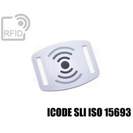 Slider RFID per braccialetti ICODE SLI ISO 15693