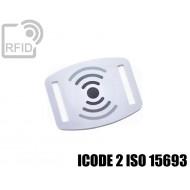 Slider RFID per braccialetti ICODE 2 ISO 15693