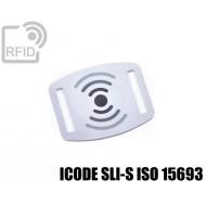 Slider RFID per braccialetti ICODE SLI-S ISO 15693