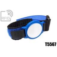 Braccialetti RFID ABS velcro T5567