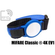 Braccialetti RFID ABS velcro MIFARE Classic ® 4K EV1