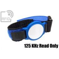 Braccialetti RFID ABS velcro 125 KHz Read Only