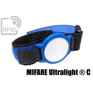 Braccialetti RFID ABS velcro NFC MIFARE Ultralight ® C