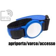 Braccialetti RFID ABS velcro apriporta/varco/accesso