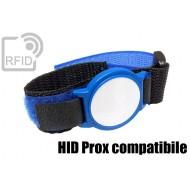 Braccialetti RFID ABS velcro HID Prox compatibile 1