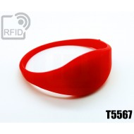 Braccialetti RFID silicone sottile T5567