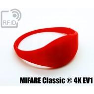 Braccialetti RFID silicone sottile MIFARE Classic ® 4K