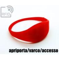 Braccialetti RFID silicone sottile apriporta/varco/accesso