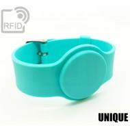 Braccialetti RFID silicone con fibbia UNIQUE