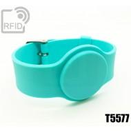 Braccialetti RFID silicone con fibbia T5577