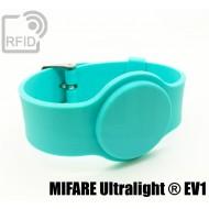 Braccialetti RFID silicone con fibbia NFC MIFARE Ultralight