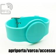 Braccialetti RFID silicone con fibbia apriporta/varco/access