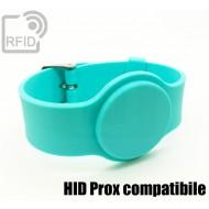 Braccialetti RFID silicone con fibbia HID Prox compatibile 1