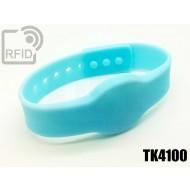 Braccialetti RFID silicone clip TK4100