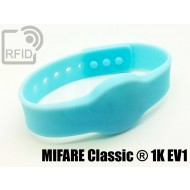 Braccialetti RFID silicone clip MIFARE Classic ® 1K