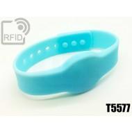 Braccialetti RFID silicone clip T5577