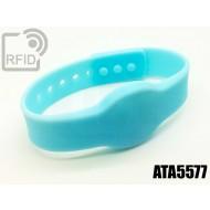 Braccialetti RFID silicone clip ATA5577