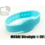 Braccialetti RFID silicone clip NFC MIFARE Ultralight ® EV1