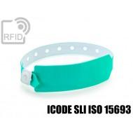 Braccialetti RFID vinile monouso ICODE SLI ISO 15693