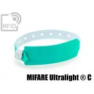 Braccialetti RFID vinile monouso NFC MIFARE Ultralight ® C