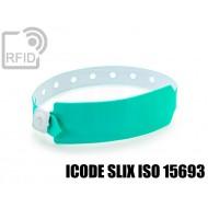 Braccialetti RFID vinile monouso ICODE SLIX ISO 15693