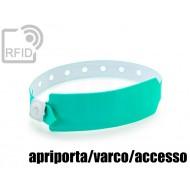 Braccialetti RFID vinile monouso apriporta/varco/accesso