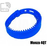 Braccialetti UHF silicone long range Monza 4QT