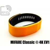 Braccialetti RFID silicone bicolore MIFARE Classic ® 4K
