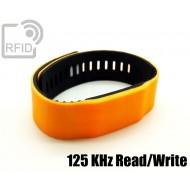 Braccialetti RFID silicone bicolore Read/Write 125 Khz