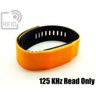 Braccialetti RFID silicone bicolore 125 KHz Read Only