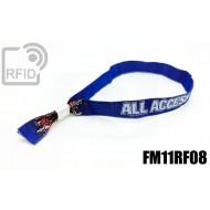 Braccialetti RFID in tessuto FM11RF08