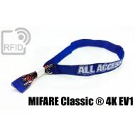 Braccialetti RFID in tessuto MIFARE Classic ® 4K EV1