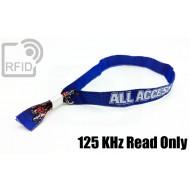 Braccialetti RFID in tessuto 125 KHz Read Only