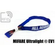 Braccialetti RFID in tessuto NFC MIFARE Ultralight ® EV1