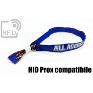 Braccialetti RFID in tessuto HID Prox compatibile 1