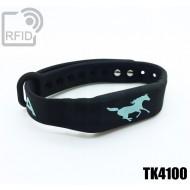 Braccialetti RFID silicone fitness TK4100