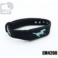 Braccialetti RFID silicone fitness EM4200