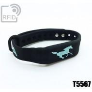 Braccialetti RFID silicone fitness T5567